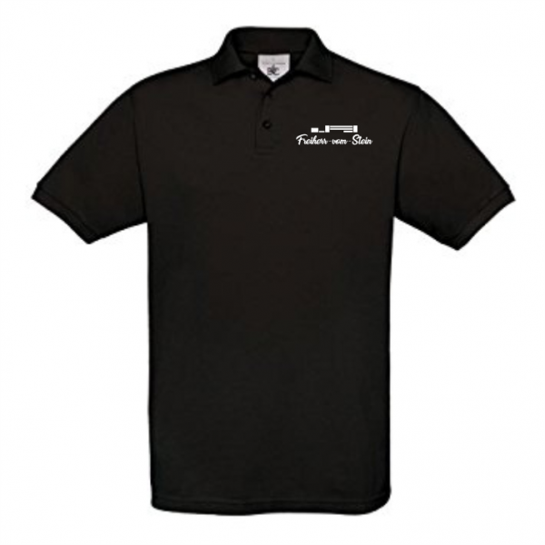 Polo-Shirt Baumwolle inkl. Brustlogo